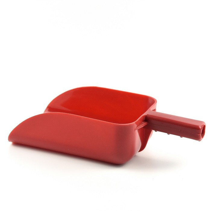 Short Handle Animal Feed Scoop PP Plastic In Feed Room With Marked Graduations